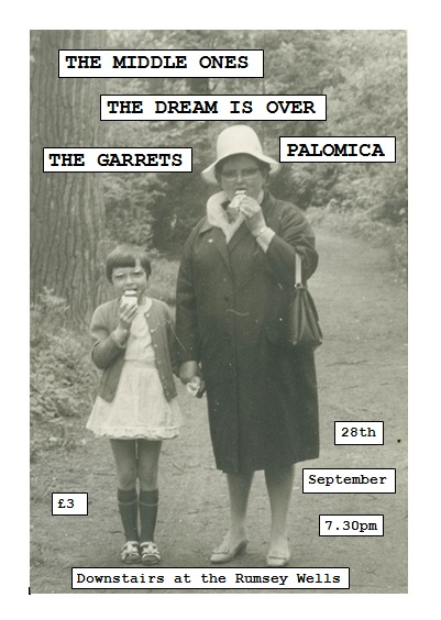 The Dream Is Over play their second ever show in Norwich